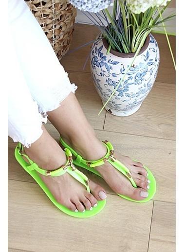 Pembe Potin A9811-20Yeşil Yeşil Kadın Sandalet A9811-20Yeşil Yeşil